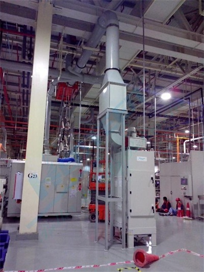 Machining Mist Collecting System at Ford Transmission I