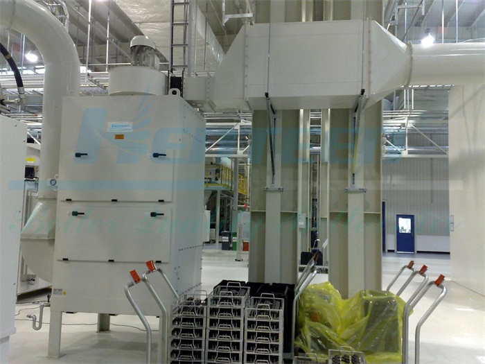Machining Mist Collecting System at VW-Loutang3